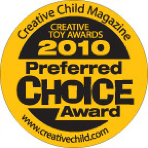 Preferred Choice Award by Creative Child Magazine